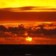 DSC09033 - versie 2 (ZANDVOORTfoto.nl) Tags: zandvoortfoto zandvoortfotonl zandvoortphoto sunset ondergaande zon zonsondergang beach beachlife dutchcoast
