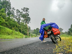 Riding through the rainforest (mathias.moeller) Tags: mondulkiri kambodscha motorbike rain forest backpacking