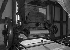 Walzenstuhl (Kai WR) Tags: damm hessen deutschland mhle mill