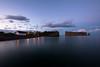 Rocher (VLetrmx21) Tags: percé quebec rockpercé rocherpercé sunset twilight longexposuretime sea water landscape
