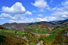 Basket Village, Rhodope Mountains, Bulgaria (Angelina Ra) Tags: basket village bulgaria mountain rhodope nikon d3100 nature sky smolyan cloud small outdoor hill peak field landscape