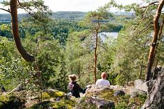 kammiovuori-nakoalapaikka_3-EetuLinnankivi (OutdoorsFi) Tags: kammiovuori mennäänmetsään sysmä näköalapaikka nature wellness