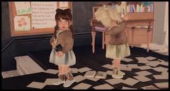 Churro Karma (delisadventures) Tags: secondlife slfashion slblogger sl secondlifefashion slblog second secondlifefashionblog slfashionblog secondlifeblog slfashions slfashionblogger slbaby slblogg slevents slfashino slfashin seconlifefashion slbog slkids slbabe spring summer slfamily slaccessories summertime sunshine sweater skirt braids adorable schoolgirls back school back2school desk furniture buglets playroom gacha fashion fashino fashin fashions fashionblog fasf babyfashion nerd geeky geek nerdy tan cardigan legwarmers muriel cute cream cocoa