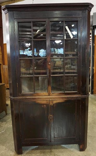 Country Painted Corner Cupboard ($1,344.00)