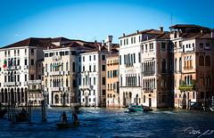 2016-08-10_Venedig - Venice - gritty version_IMG_7885 (dieter_weinelt) Tags: bluesky brcken dieter fiona gondeln kanal kanle melanie sommer2016 sonnenschein touristen venedig venice victoria blauerhimmel boats boote bridges canals gondolas summer2016 sunshine tourists