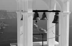 Santorin 2 (Urbamaker) Tags: santorini santorin mer gee sea cloches glises paquebot caldera volcan greece grce