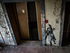 Little Girl (CR_Neverland) Tags: chernobyl prypjat ukraine lostplace destruction nuklear catastrophe tschernobyl graffiti child girl elevator radioaktiv neverforget nikon nikond5200 nikonphotography nikontop nikontopshot urbex urbexworld urbanexploring city ghostcity town losttown