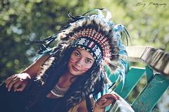 Nikita (Emy_Lye) Tags: nikon photo photoshop photography photographer woman amerindian beauty fashion mode makeup feather young model nevers emy