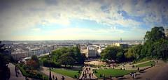 Vista panormica desde Montmartre (woto) Tags: paris france montmartre panoramic tiltshift
