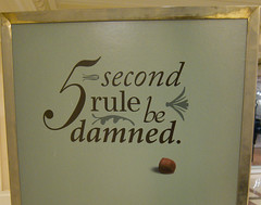 5 second rule be damned