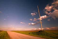 Hope is Like a Road in the Country (Loren Zemlicka) Tags: road sky usa field lines wisconsin clouds america photography photo spring midwest image country picture explore american april northamerica porter telephonepole canonef1740mmf4lusm edgerton 2012 evansville converginglines canoneos5d flickrexplore rockcounty portalwisconsinorgselected lorenzemlicka portalwisconsinorg042312