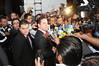Los candidatos al Gubernatura de Jalisco en el debate organizado del IEPC para el proceso electoral 2012