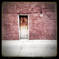 #philly #neighbors #philadelphia #door (artwpn) Tags: door brick philadelphia square outdoor noflash squareformat iphone oldshit iphoneography hipstamatic instagramapp uploaded:by=instagram