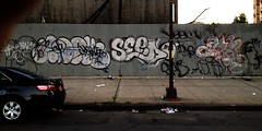 ICU and MOBSTER over ADEK, SEEDR, VESCR, SKID, GNS, BAK (S C R A T C H I E S) Tags: nyc graffiti seed mobster adek gk skid bak icu xbs dms gns btm seedr