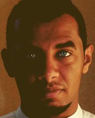 Blue eyes (°l||l°mohammed°l||l°) Tags: blue eyes العيون تجربه تغيير