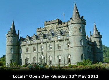 Inveraray Castle Open day for Locals