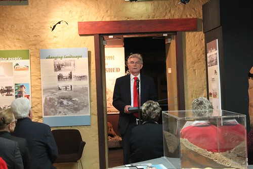 Launch of new gallery, Sheep's Back Museum, Naracoorte