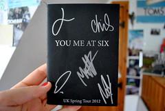 You Me At Six (millie ✿) Tags: music fashion poster book tour hand united nail band kingdom josh autograph merchandise toms merch varnish ymas youmeatsix tumblr franceschi