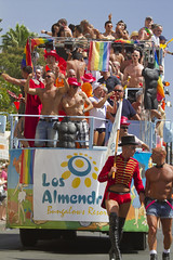 Maspalomas Gay Pride 2012 (Alex Bramwell) Tags: gay men grancanaria festival crowd parade gaypride float 2012 maspalomas playadelingles avenidatirajana