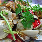 "Clams with Lemongrass and Chili <a style=""margin-left:10px; font-size:0.8em;"" href=""http://www.flickr.com/photos/14315427@N00/7268247526/"" target=""_blank"">@flickr</a>"
