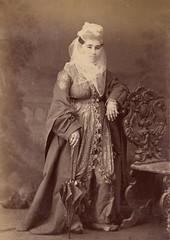 Unknown Ottoman Lady (ssndr) Tags: woman lady photography photo costume veil dress headscarf hijab photograph ottoman modest islamic resim etek tablo hanm osmanl   barts kadn trban tesettr kyafet giysi earp hanmefendi tlbent pee hidschab muhafazakar