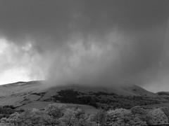 Hills (Sibokk) Tags: blackandwhite bw white black digital landscape ir photography mono hills casio filter exilim r72 neewer