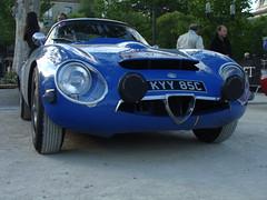 Alfa Romeo TZ 1964 (tautaudu02) Tags: auto cars automobile 2000 tour voiture moto alfa romeo nimes coches tz 2012 optic rtro