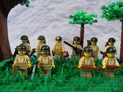 Americans (℣℩ƙ℩ℵℊ424) Tags: world 2 milan war lego wwii ii american ww2 squad custom axis platoon madge allies minifigure brickarms viking424
