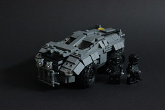 DARKWATER ARV V1 (Andreas) Tags: light lego military darkwater arv reconnaissancevehicle thepurge