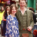 Kelly MacDonald and Dougie Payne on the red carpet for the European premiere of Brave at the Festival Theatre