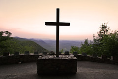 Lead Me To The Cross (Seth Berry Photography) Tags: sunset camp mountains church photography seth berry pretty place cross outdoor southcarolina northcarolina chapel christian ymca greenville prettyplacechapel sethberryphotography
