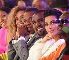 2012 bet awards pictures - alicia keys jay-z beyonce kanye west nicki minaj kim kardashian