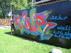 graffiti jam Almere 7 juli 2012 (StotdeV) Tags: haven graffiti ag jam 2012 almere sehr
