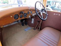 1929 Rolls Royce 20HP Shooting Brake (DBerry2006) Tags: antiquecar rollsroyce dashboard concours steeringwheel concoursdelegance 1920scars marinsonomaconcours
