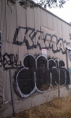 Muerte/Kama (MOB IN DA BAY) Tags: california ca street streets west art up cali graffiti oakland bay coast town war paint artist live kali funky calif east muerte ups funk area amc bomber goons 510 addiction kalifornia bombing kama savage paintin bombin ftl tmd kalif steez amck tmdk cokeland 5ndime