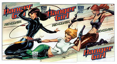 Danger Girl: Revolver 2-4 (Campbell covers) (FranMoff) Tags: comicbooks dangergirl jscottcampbell sydneysavage abbeychase jscampbell sonyasavage
