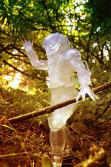 Cloaked Predator (ElDave) Tags: macro toy toys actionfigure alien jungle hunter predator predators cloaked neca necatoys