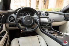 Jaguar XJL-12.jpg (CarbonOctane) Tags: white dubai shoot uae review july jaguar 2012 xj carbonoctanecom 2012jaguarxjl