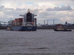Ships on the River Mersey (sab89) Tags: liverpool river ship ships s container tugs mersey maltby katharina bidston svitzer