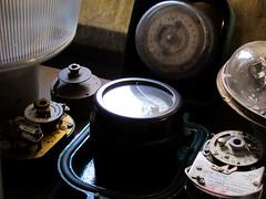 Time Stood Still (Lady Wulfrun) Tags: lighting street light electric solar british clockwork brass switches bakelite venner switching sangamo timeswitch timeswitches