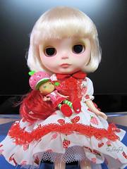 Blythe a Day July: 27 - Strawberry