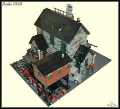 Lego Berlin 1939 (=DoNe=) Tags: world 2 berlin by viktor war tank lego tiger made custom done diorama 1939