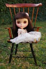 Faith, sitting pretty