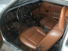 Argentine Taunus TC3 coupe GT (Ale06.6) Tags: original brown classic argentina argentine buenosaires vinyl alemania inside gt trim marron coupe sporty clasico deportivo tc1 tc2 cuero tc3 fordtaunus yountimer tapizado