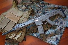 A&K Masada airsoft gun (James Tung) Tags: ak acr masada airsoft pts bbgun aeg assaultrifle 556mm magpul