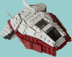 Angleos - Title (.Jake) Tags: white lego space angles engines spaceship starfighter