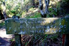 Welcome to Blue Mountains (Simon'jlc) Tags: bluemountains katoomba leura