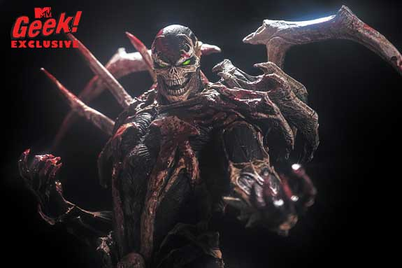 McFarlane Toys - 『閃靈悍將的詛咒』雕像