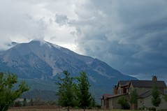 Mount Sopris Storm (Ken'sKam) Tags: mountain storm clouds colorado cloudy rockymountains carbondale stormclouds mountsopris afsdxvrzoomnikkor18200mmf3556gifedii