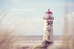 Lighthouse ([ J a d e ]) Tags: blue sea lighthouse beach canon coast florabella 5dmarkii telacrebeach